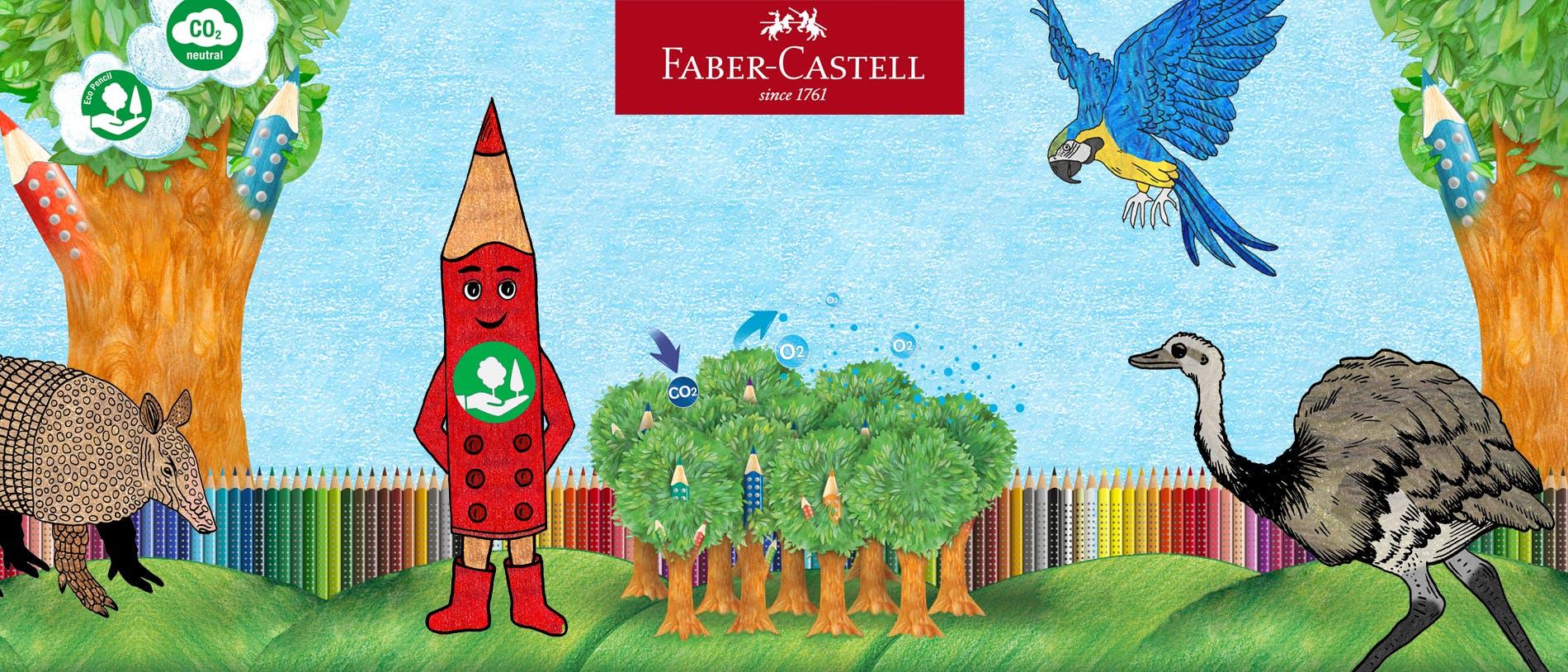 Blog Wakatoon | Coloriage animé Faber-Castell sur-mesure