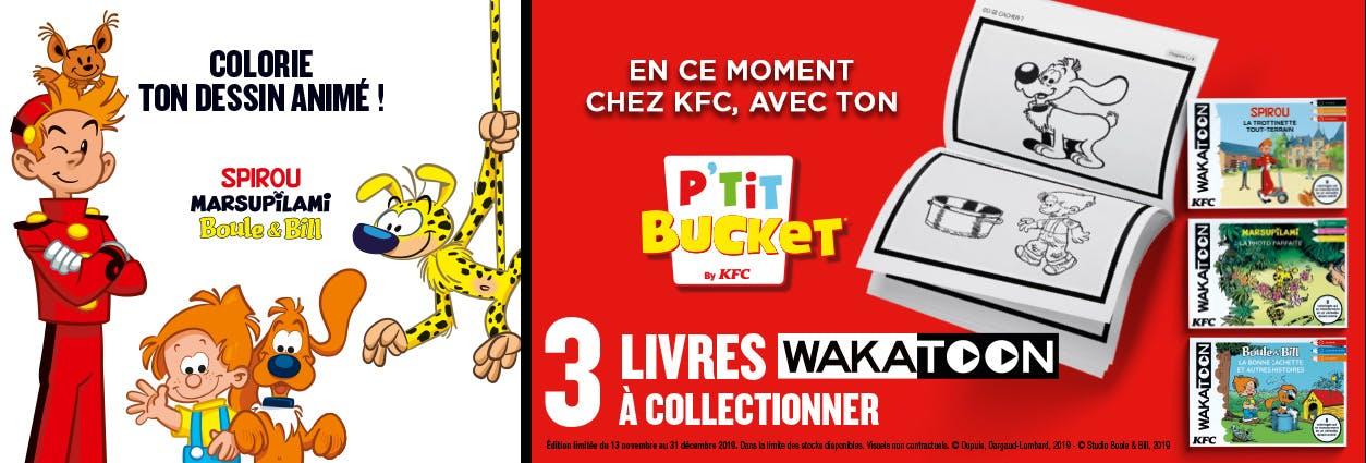 Wakatoon dans les restaurants KFC