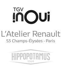 inOui, L'Atelier Renault, Hippopotamus...
