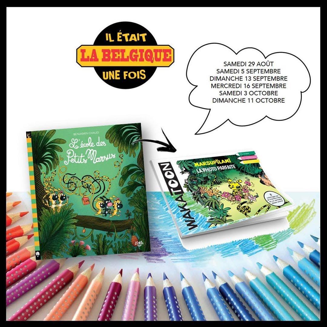 Activité les Récrés du Bon Marché lecture d'un livre et atelier créatif coloriage