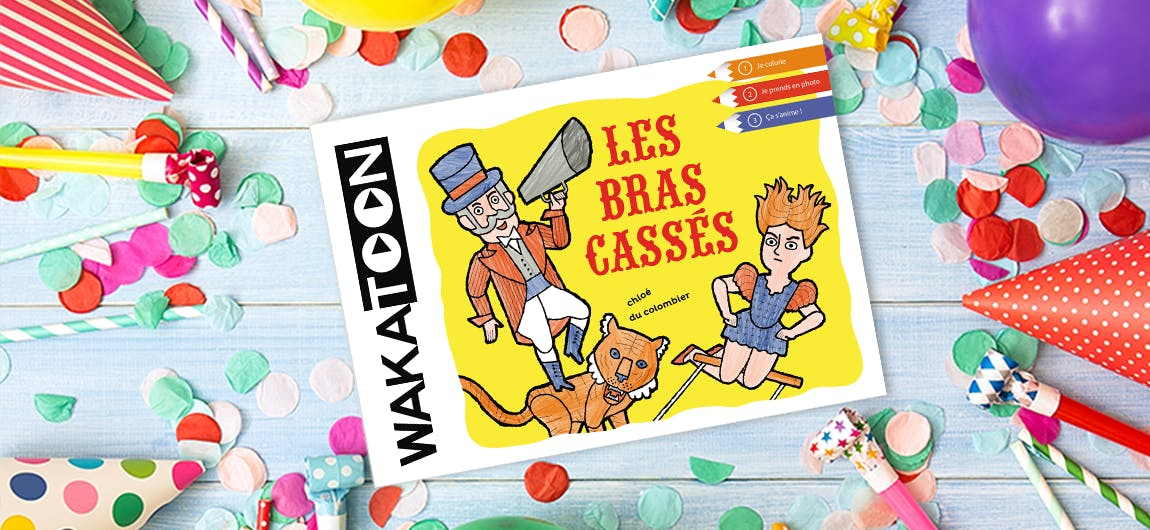 Un anniversaire magique avec les coloriages animés Wakatoon