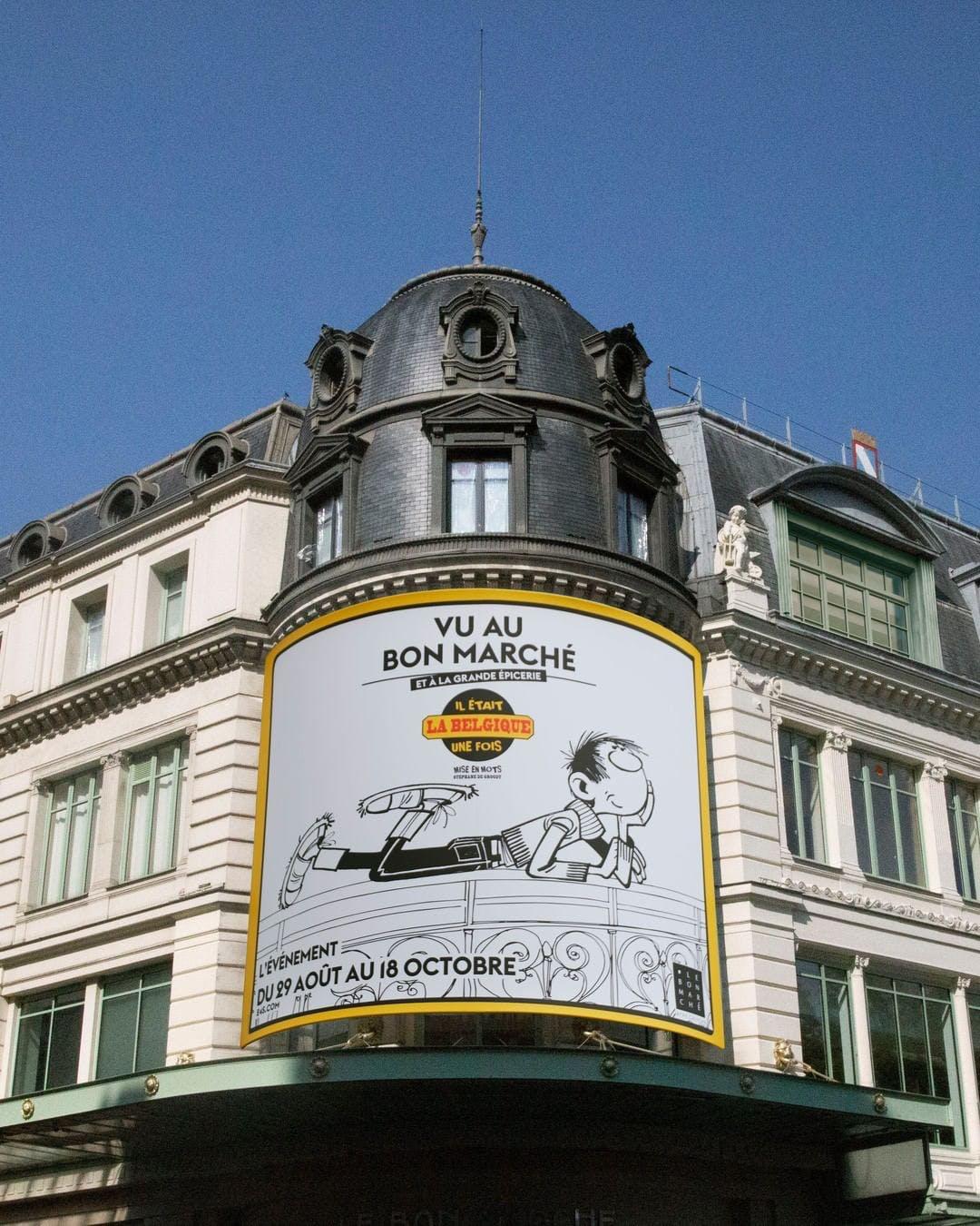 Exposition Belgique au magasin parisien Le Bon Marché Rive Gauche