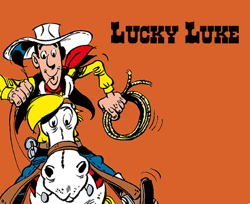 Lucky Luke animated coloring book