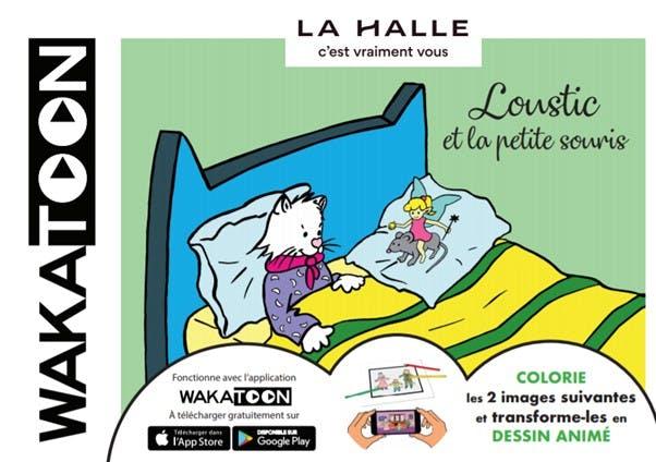 Jeu concours site e-commerce La Halle