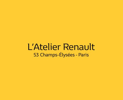 Production of an interactive animated coloring booth for Atelier Renault with tailor-made content for children.