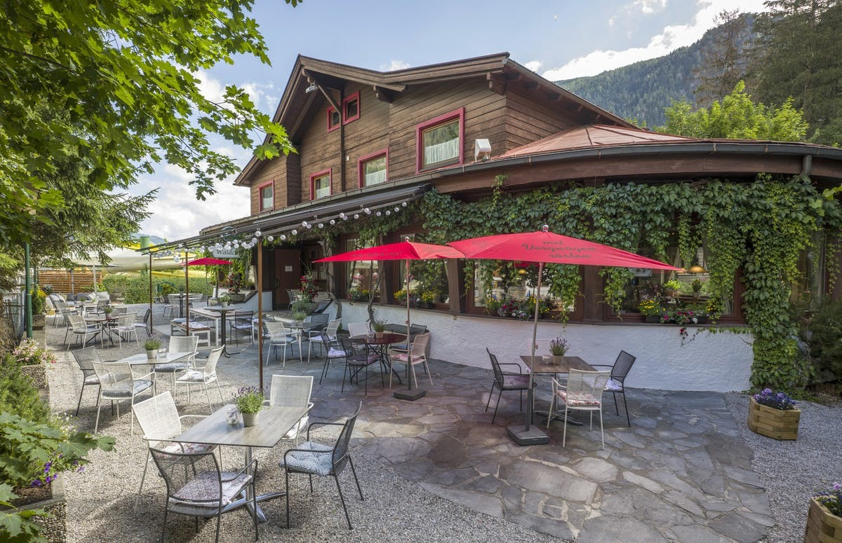 Restaurant und Cafe in Mayrhofen - Waldcafe