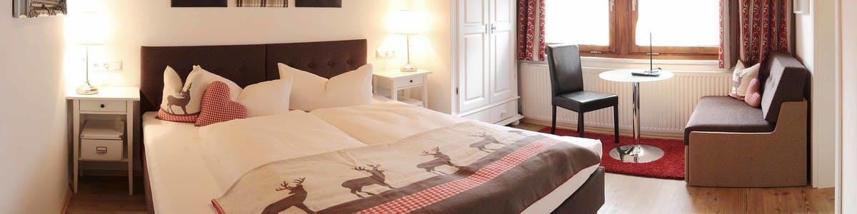 Zimmer, Unterkunft in Mayrhofen - Gasthof Waldcafe