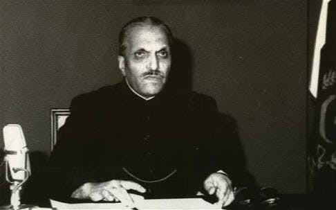 General Zia's address to the nation