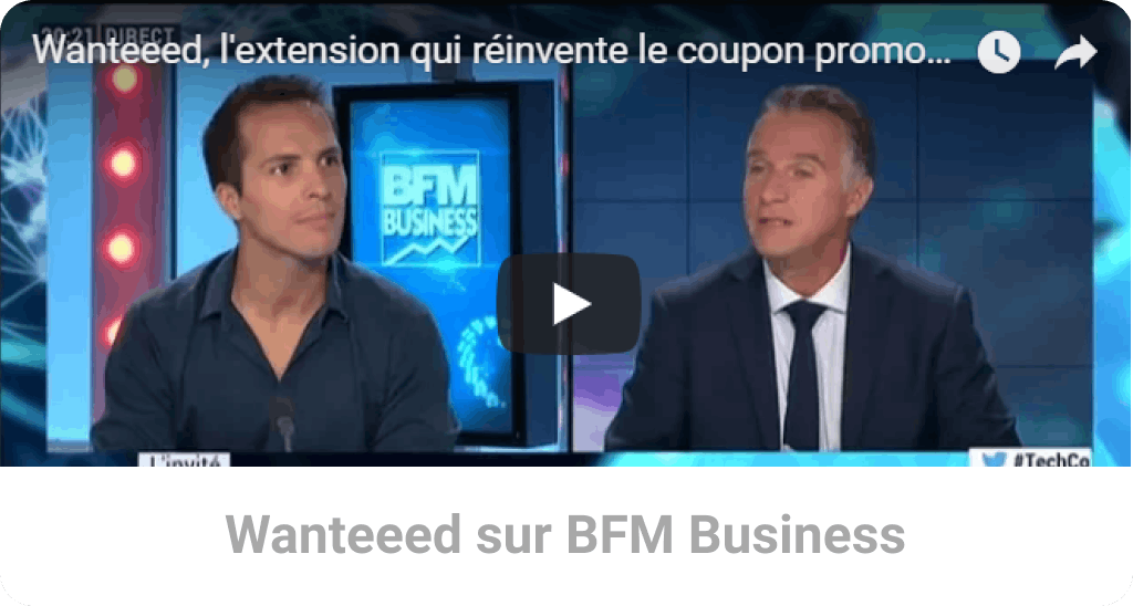 Wanteeed sur BFM Business