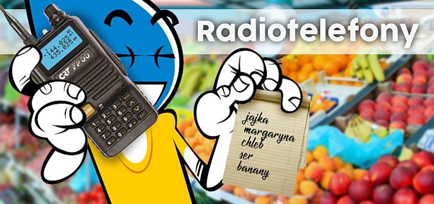 Radiotelefony VHF UHF