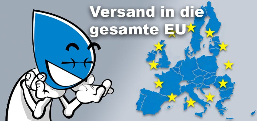 Versand in die gesamte EU