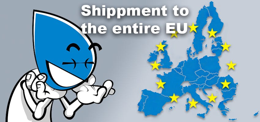 Shippment to the entire EU