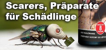 Scarers, Präparate für Schädlinge