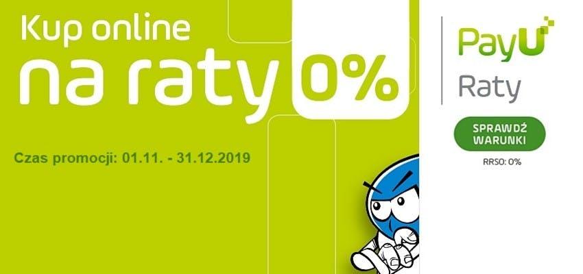 Raty 0% na zakupy w sklepie wasserman.eu