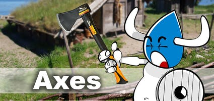 Saws and axes