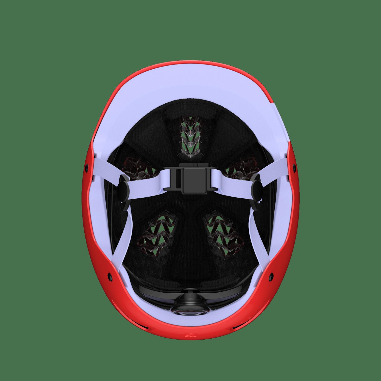 Jet helmet bottom