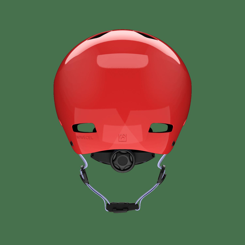 Jet helmet back