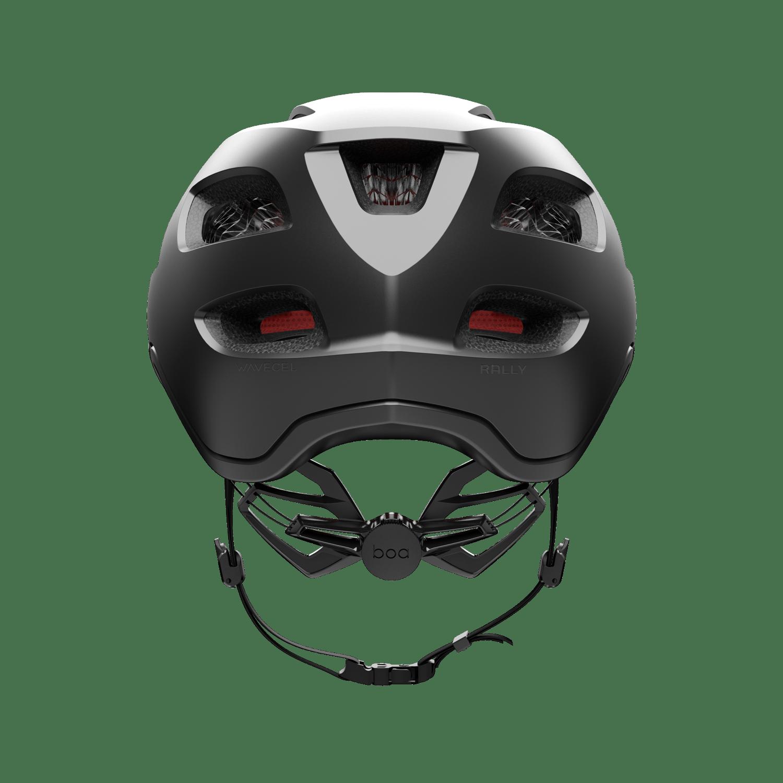 Rally helmet back