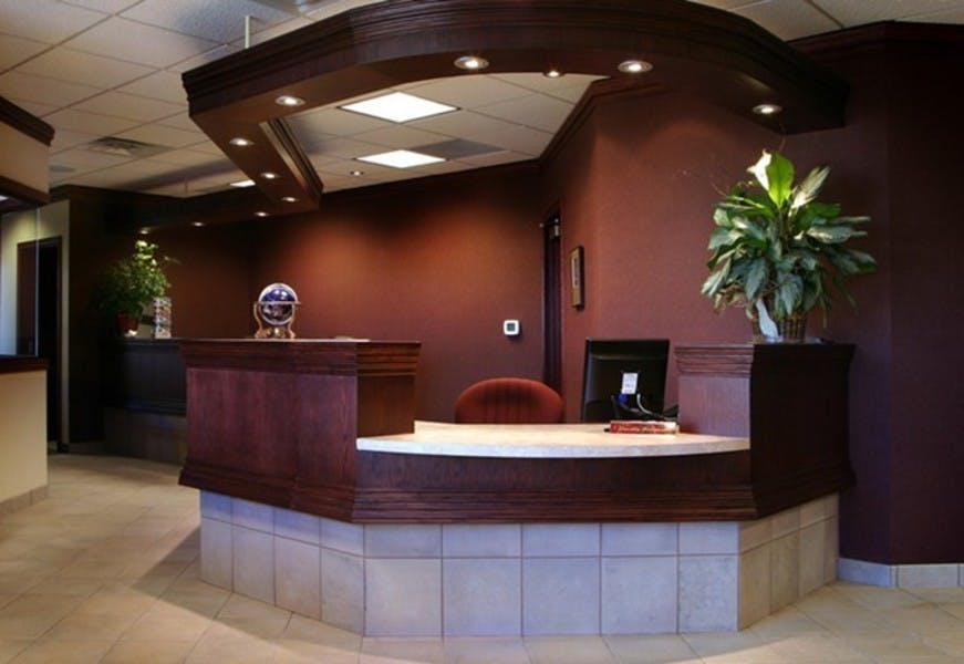 Family Vision Center Front Desk