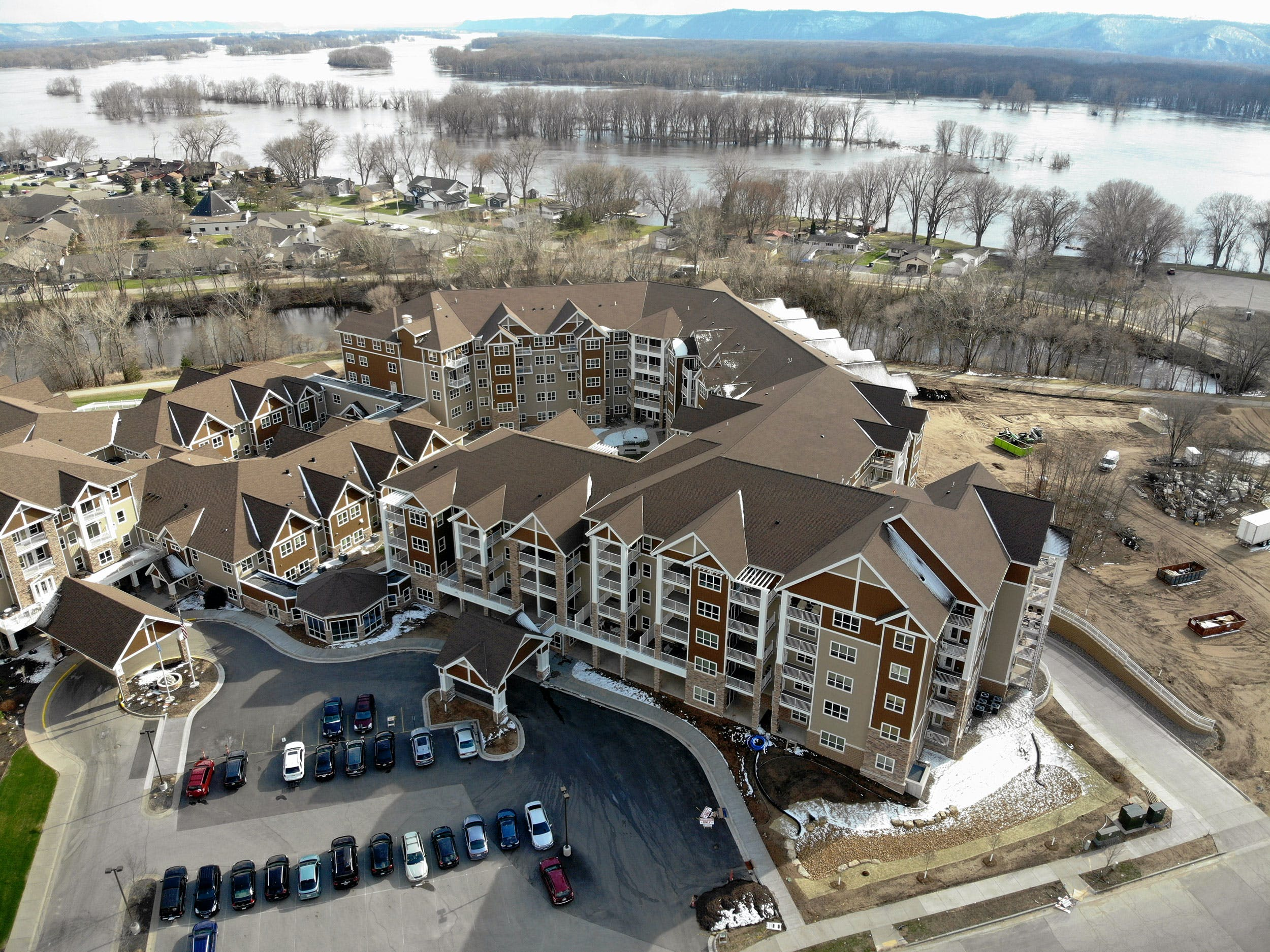 Eagle Crest South Bethany Lutheran Homes - La Crosse WI - aerial view