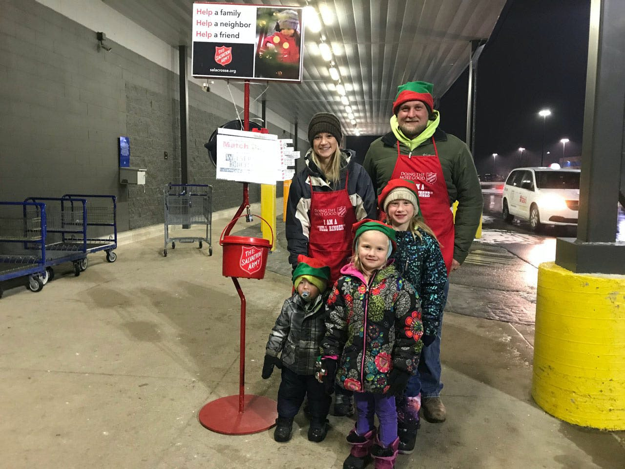 Salvation Army Bell Ringing