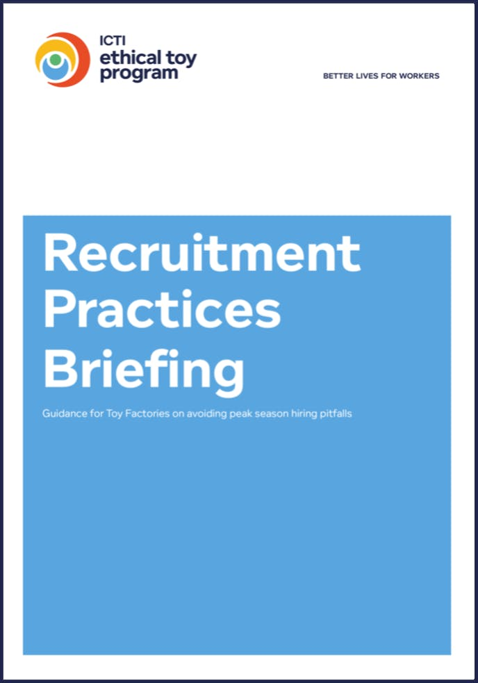 IETP recruitment practices briefing - a gudience to avoid recruitment pitfalls