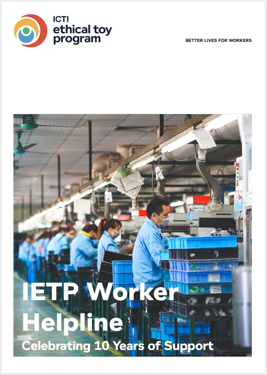 IETP Worker Helpline - 10 Years Impact Report
