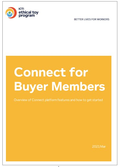 Connect Platform - User Guide for Buyer Members - Mar 2021