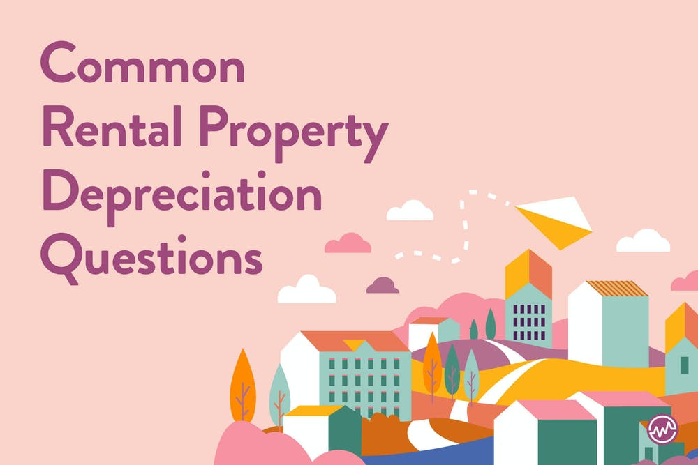 Common rental property depreciation questions