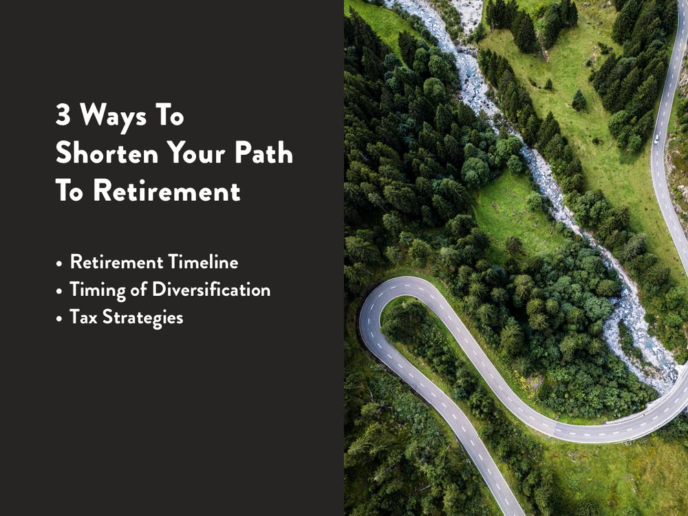 How to shorten your path to retirement