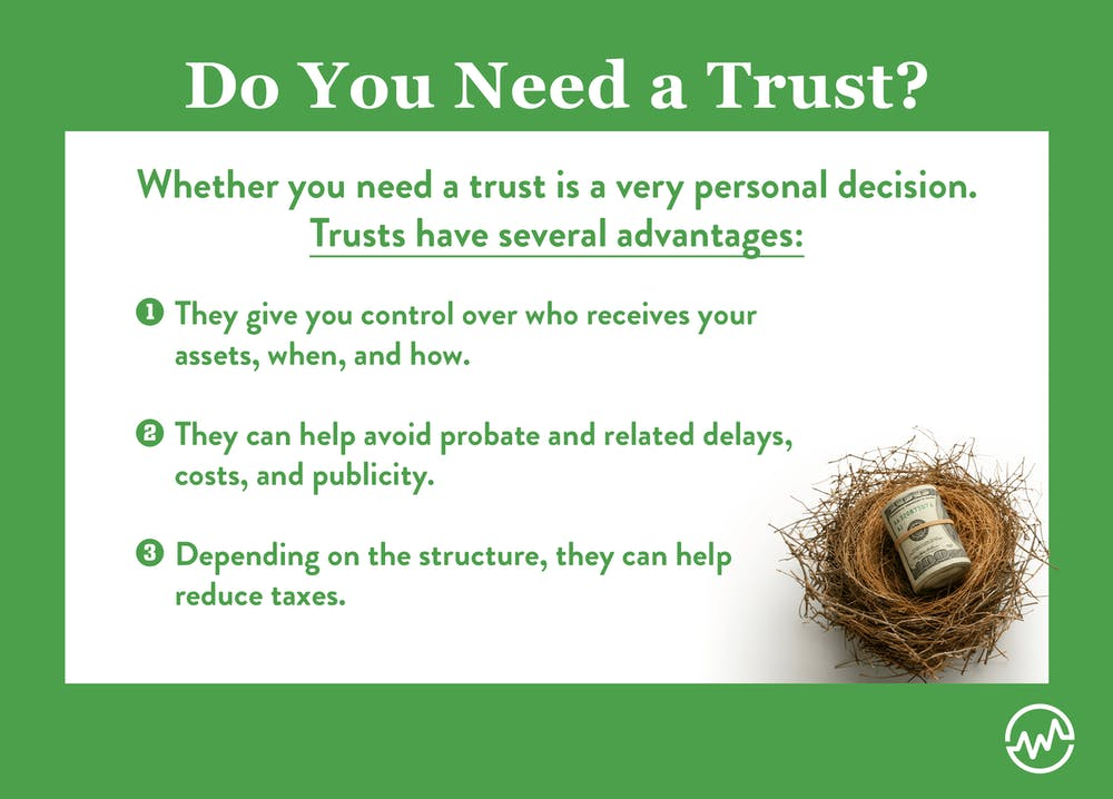 Determine if you need a trust is the first step in learning how to set up a trust fund