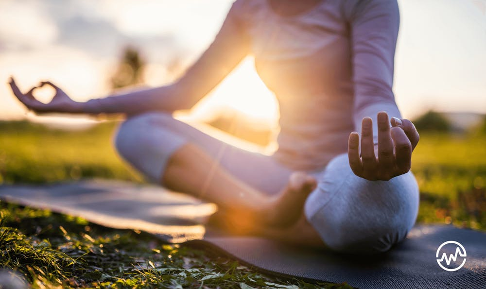 Meditation helps to stress less