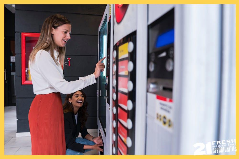 Side Hustle: Start a Vending Machine Empire