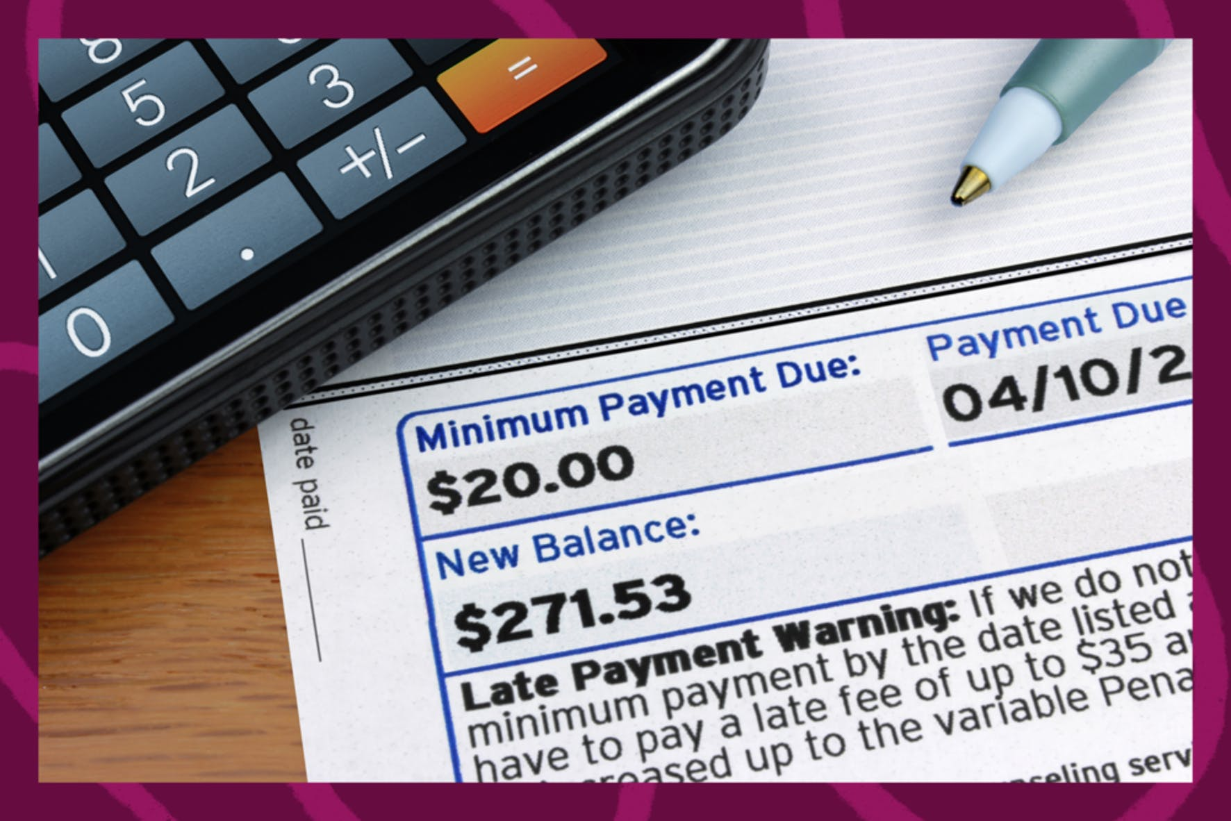 Making on time credit card payments to build your credit as an authorized user