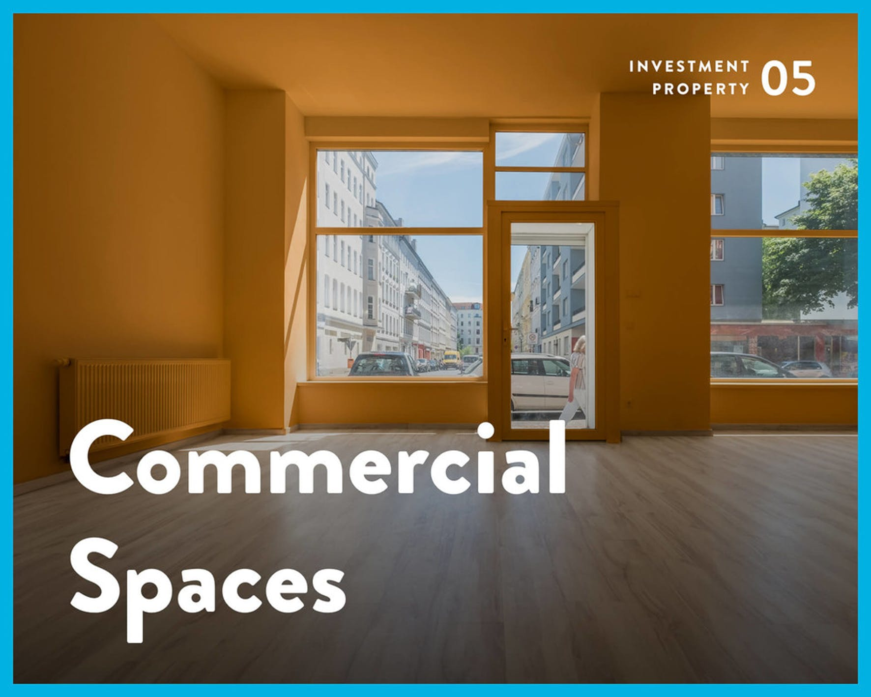 Real estate investing - commercial spaces