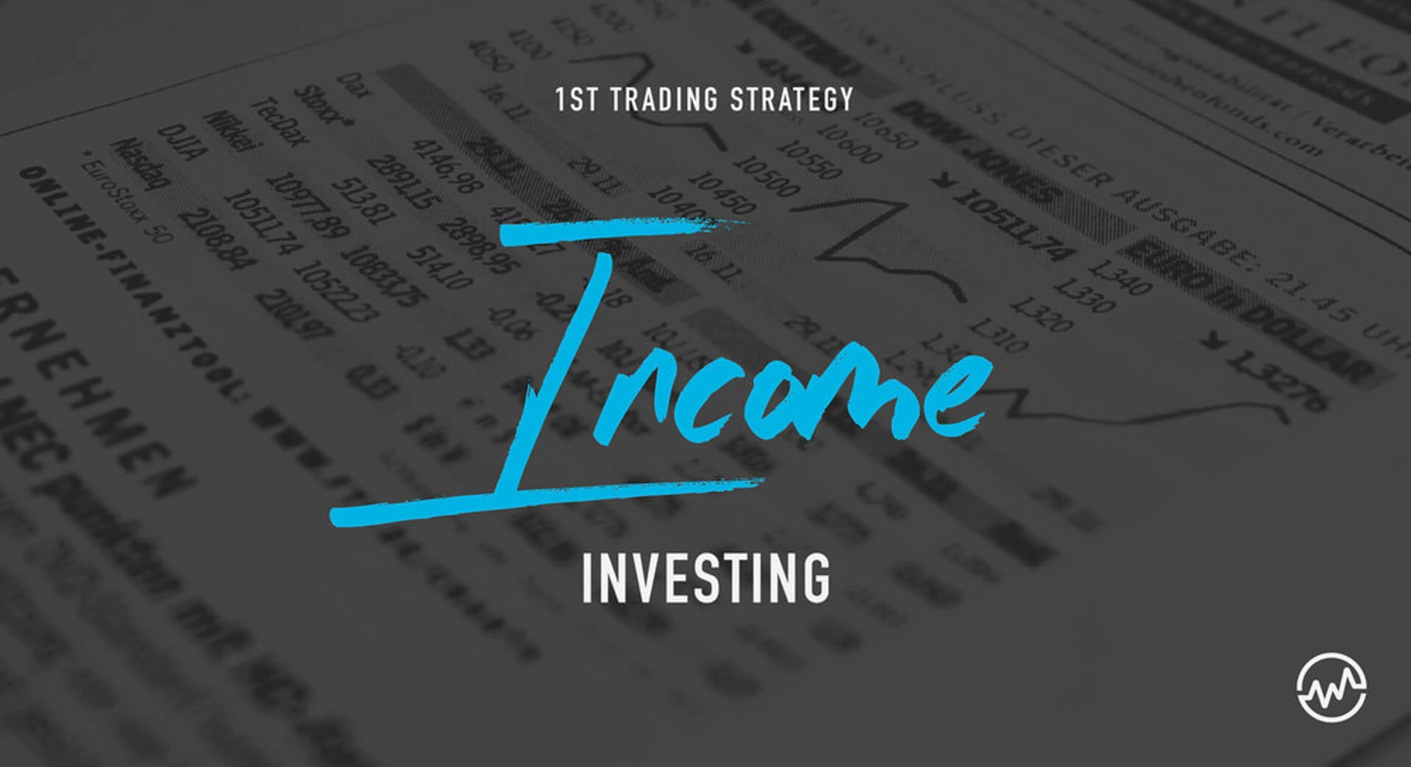 A spreadsheet explaining the investing strategy of income investing