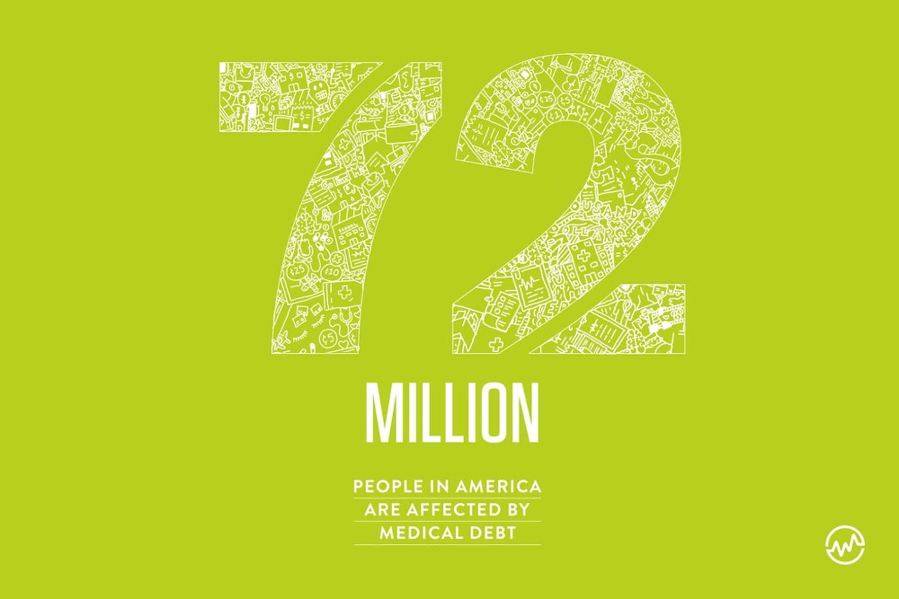 Organizations that help pay medical bills: 72 million people in America have medical debt