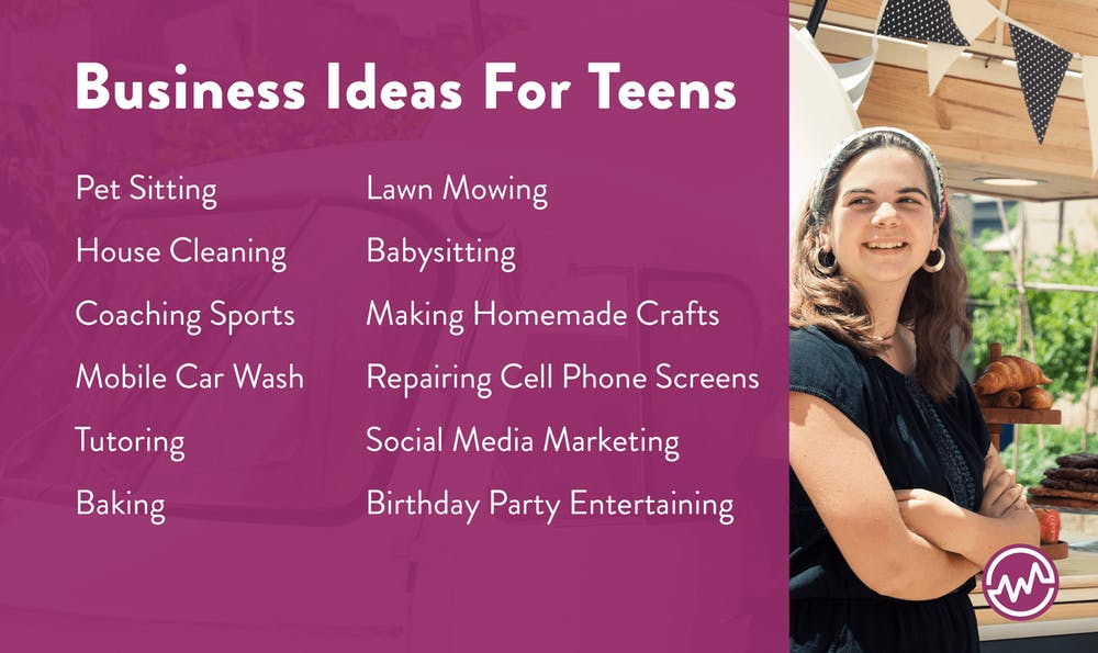 12 Business Ideas for teens