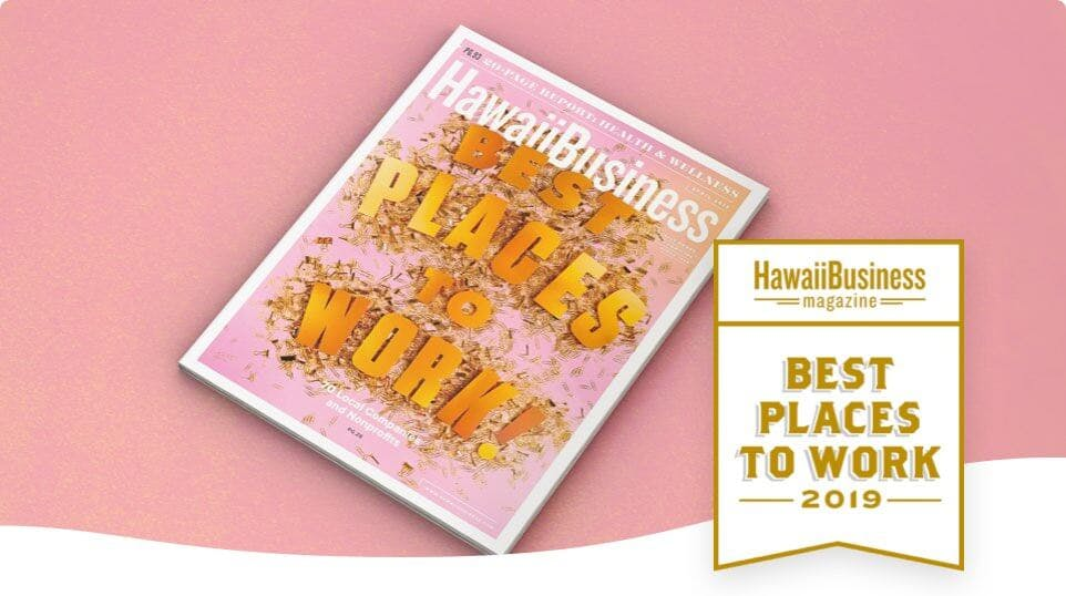 "Photo of a ""Hawaii Business"" Magazine cover"