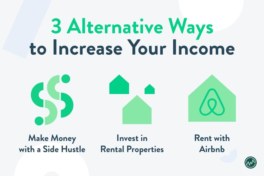3 alternative ways to increase your income