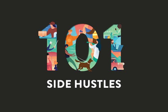 Side hustles: 101 ways to make money while working a full-time job