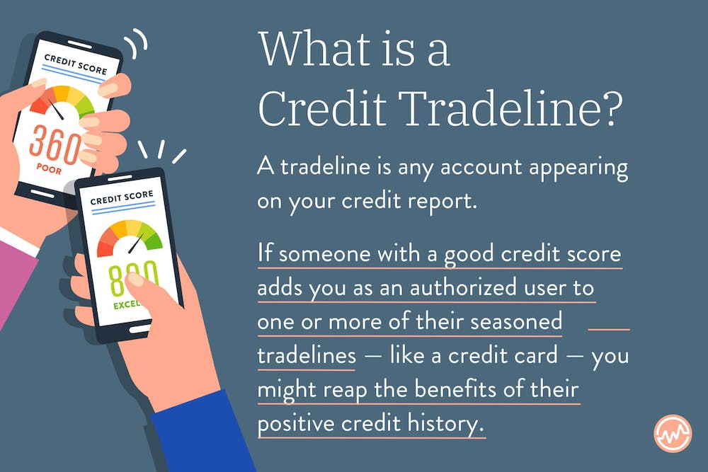 What is a credit tradeline?