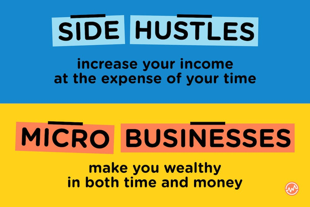 Micro businesses make you wealthy in both time and money