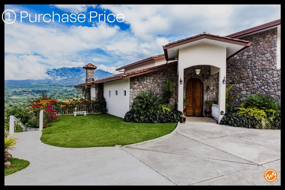 real estate investing purchase price