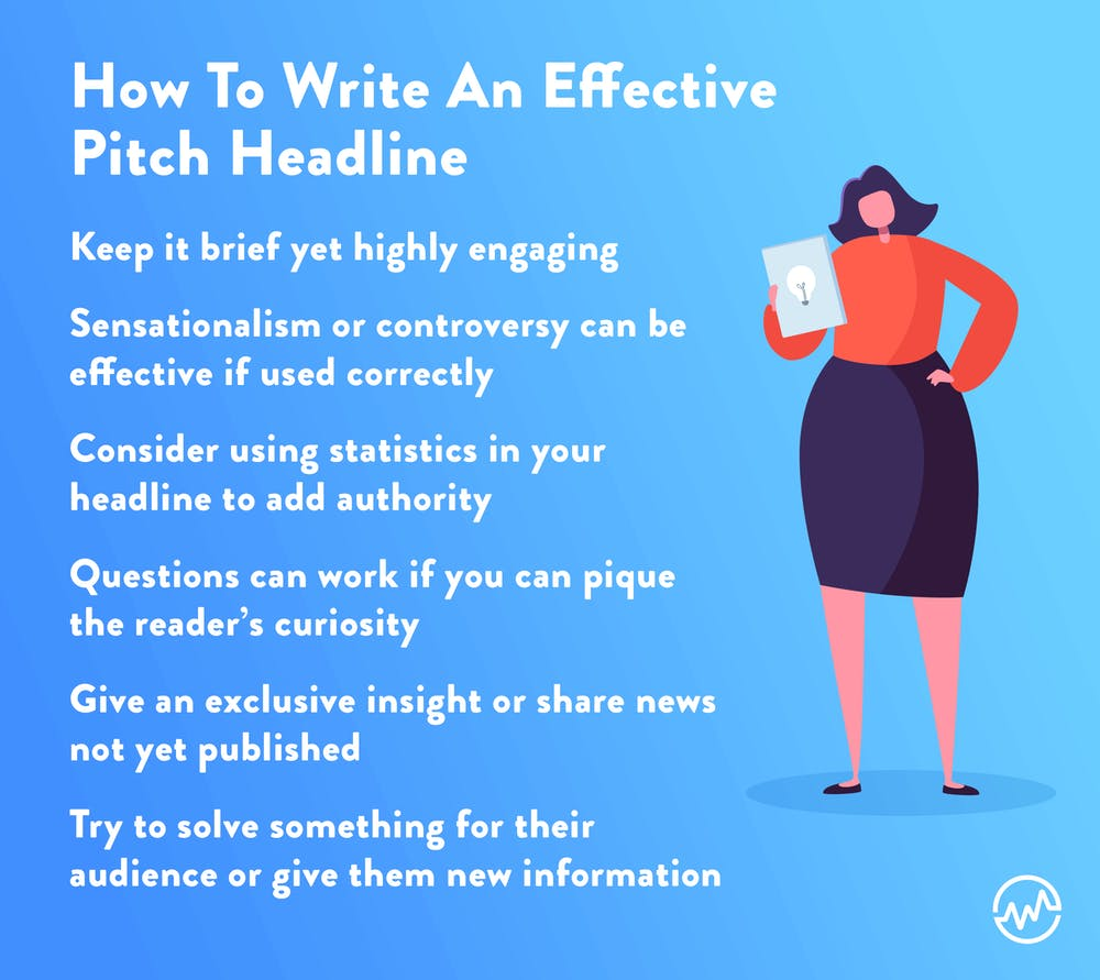 How to write an effective pitch headline