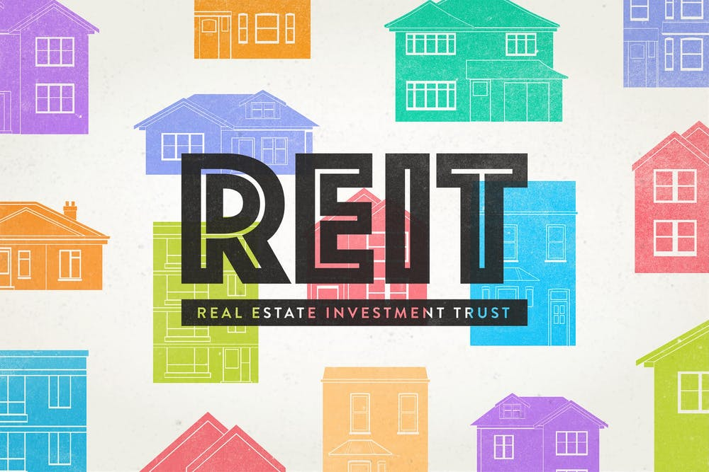 Using REITs to invest in real estate with no money and bad credit
