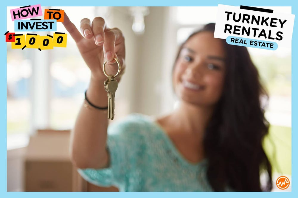 How to invest 1000 dollars: Turnkey Rental Real Estate