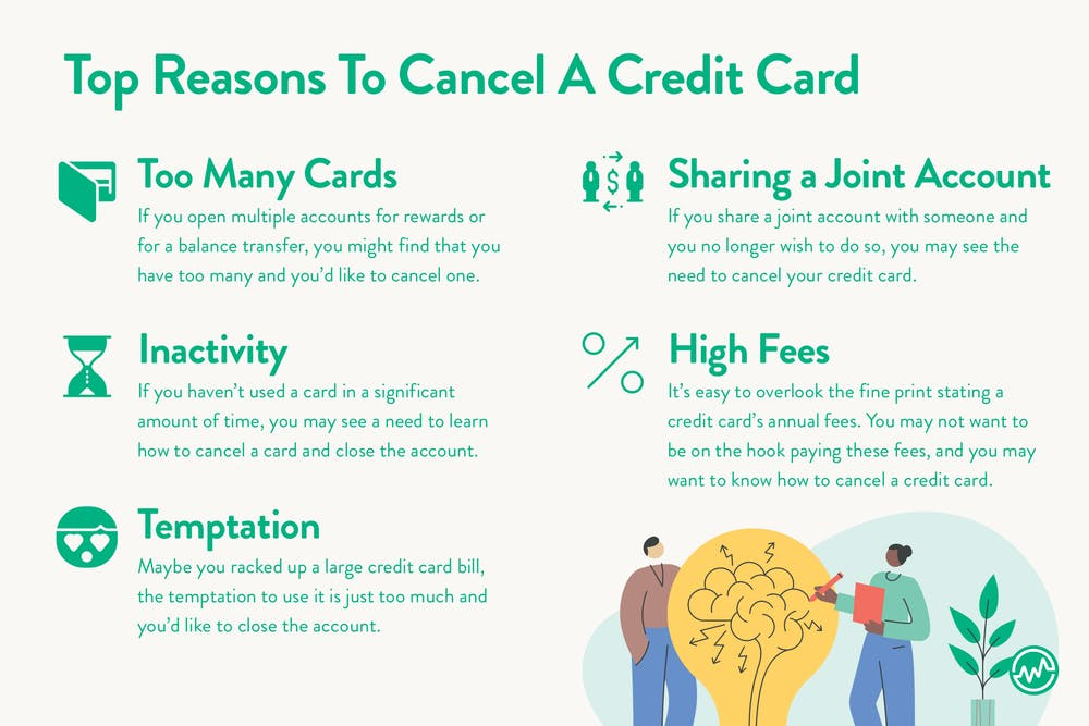 5 reasons to cancel a credit card