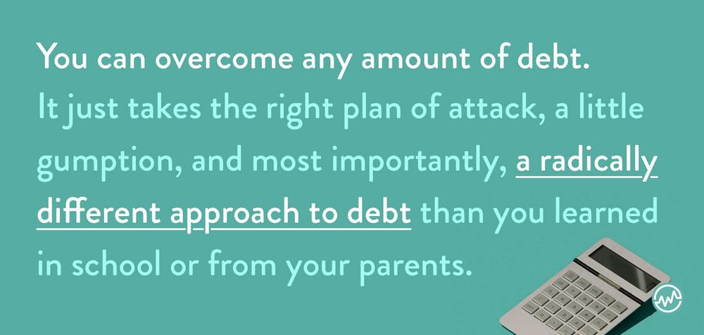 Learning how to get out of bad debt
