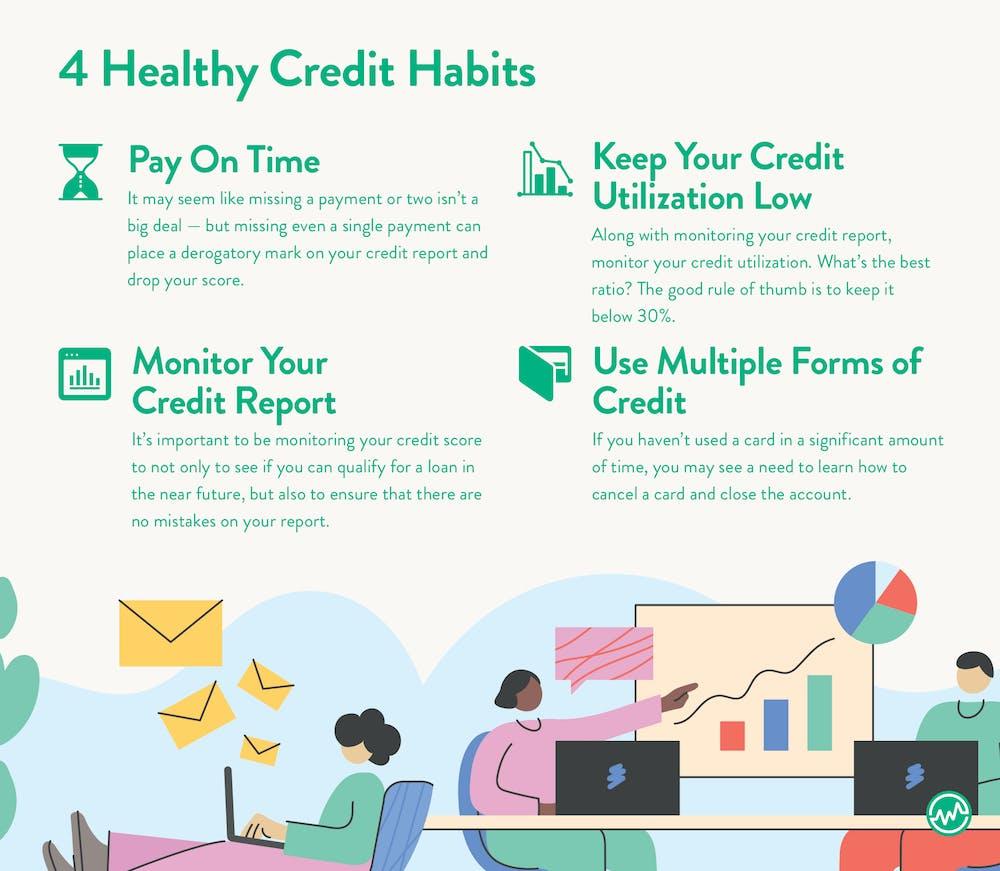 4 healthy credit habits